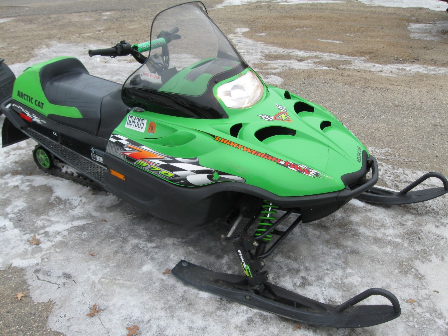 2002 Arctic Cat Z 370 twin cities mn