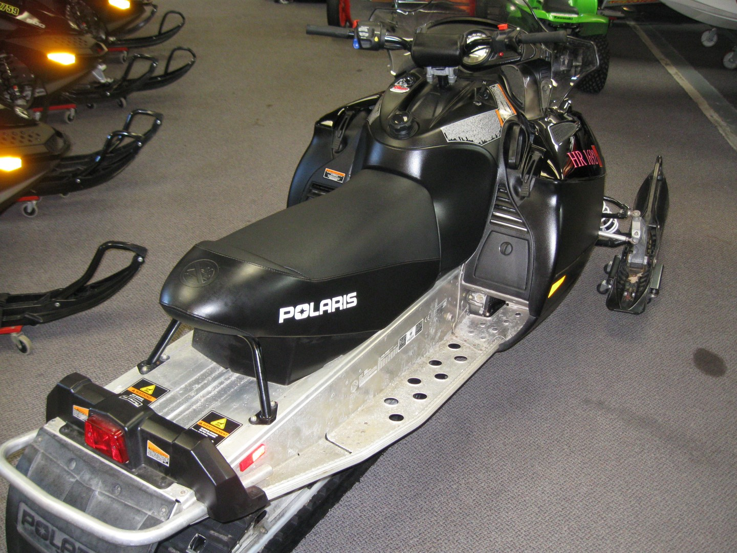 2008 Polaris IQ Shift 600 for sale black minnetonka mn seaberg motorsports crosslake mn rear quarter right seat