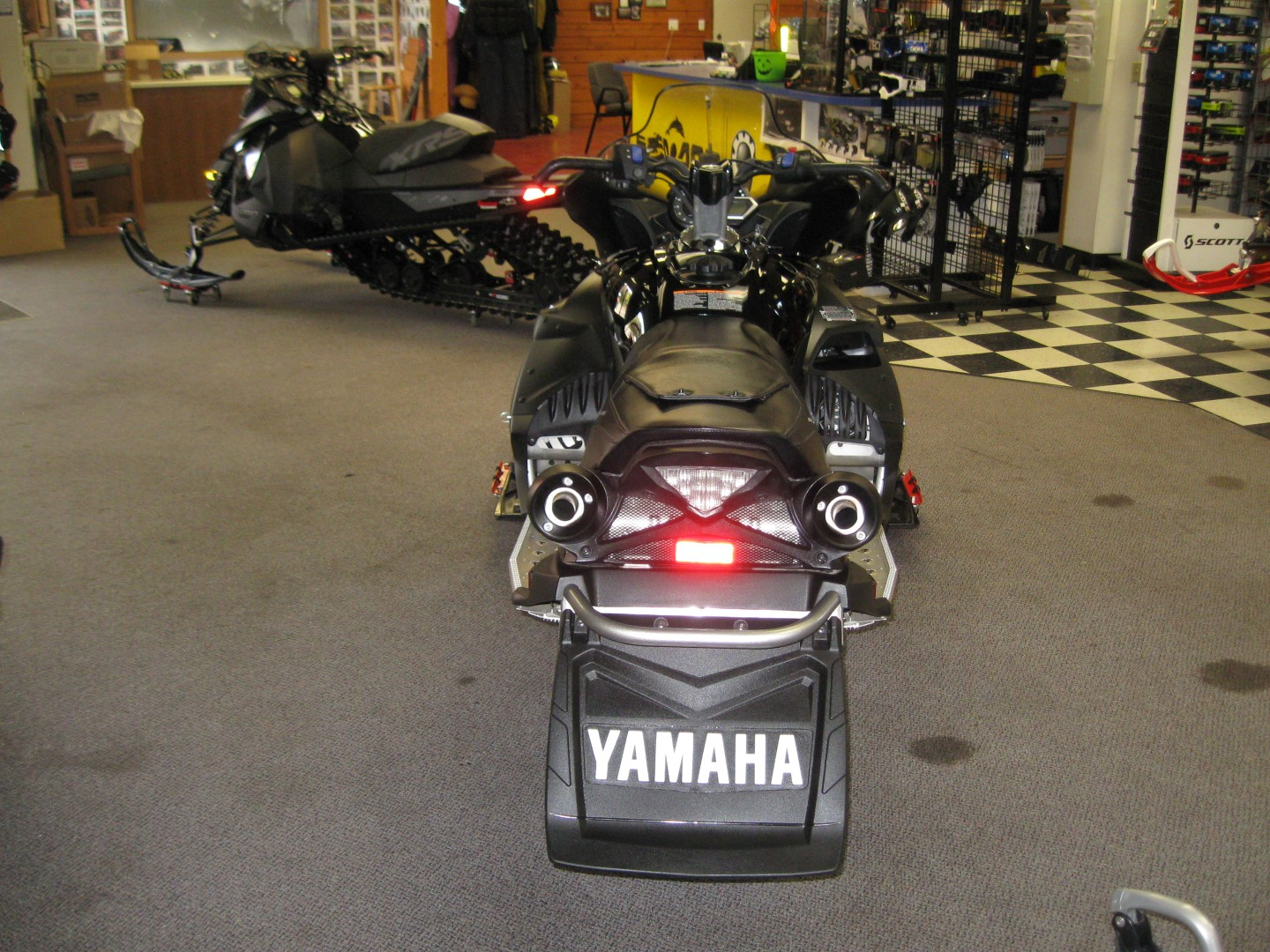 2012 Yamaha RS Vector Snowmobile rear view for sale Minneapolis MN