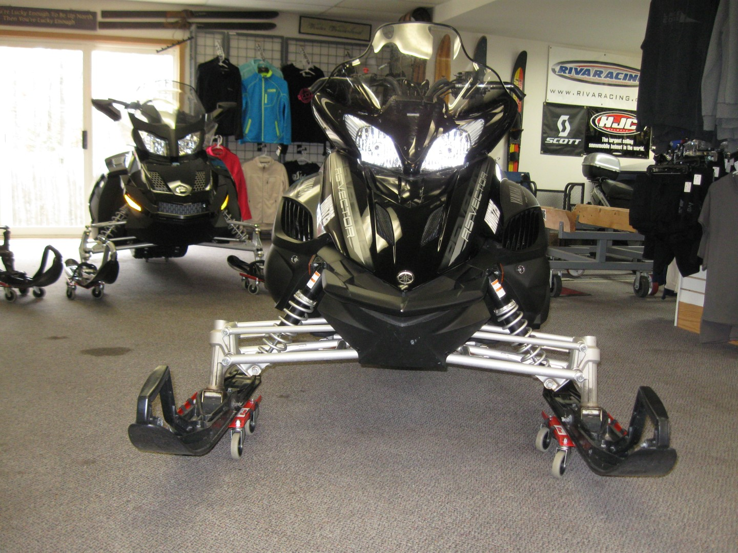 2012 Yamaha RS Vector Snowmobile front view for sale minneapolis mn