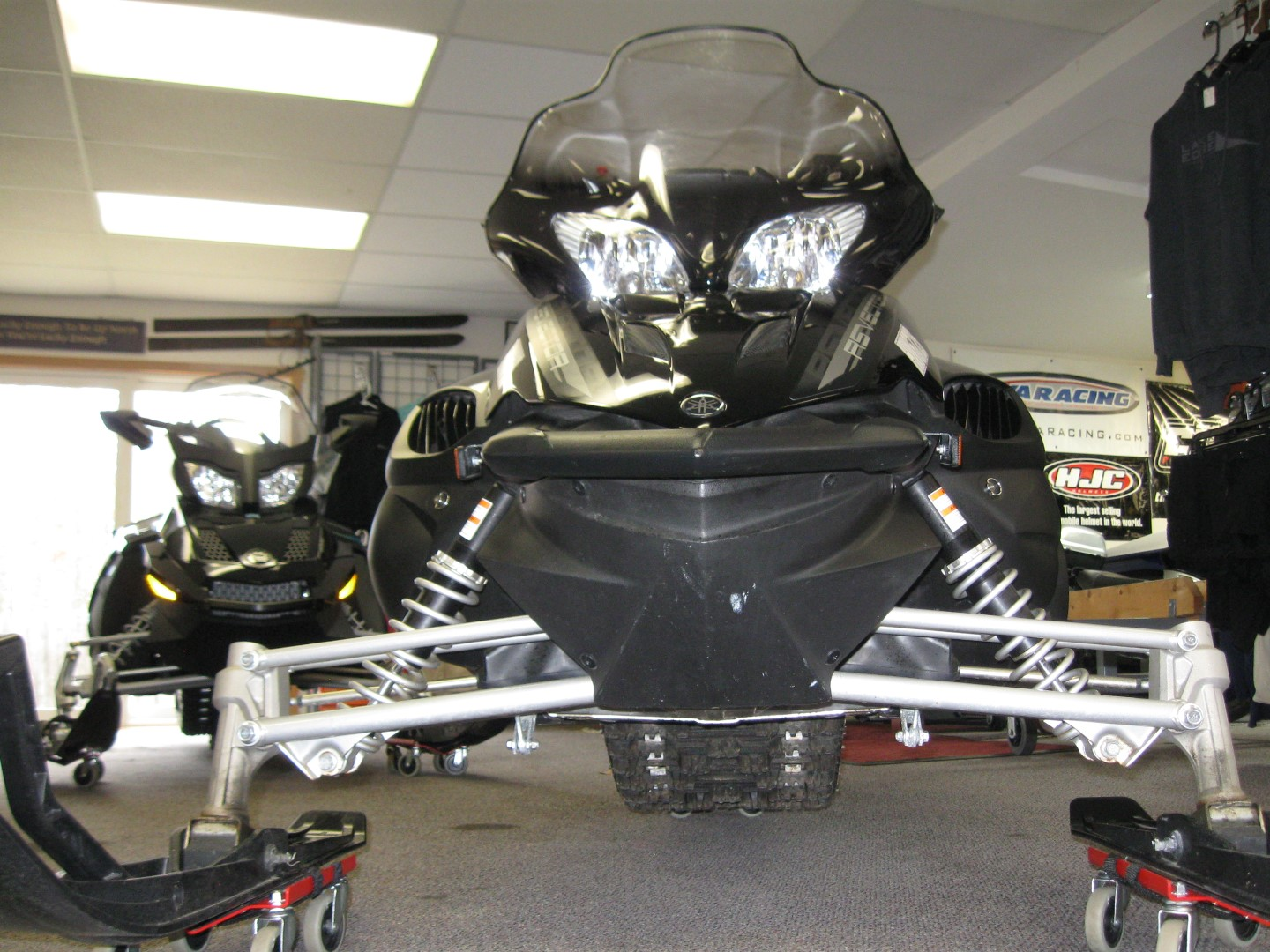 2012 Yamaha RS Vector Snowmobile for sale front view minneapolis MN