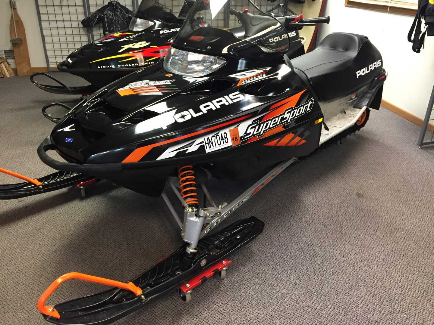 2005 polaris supersport 550 Deluxe track for sale seaberg motorsports crosslake MN sale skis st cloud mn