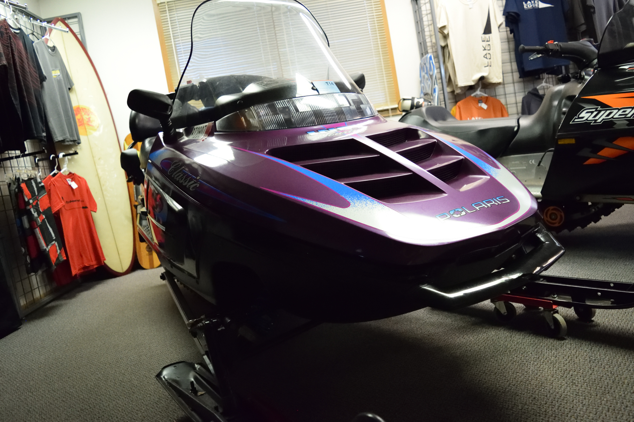 1997 Polaris Indy Classic Touring 2-up 500 Liquid Cooled Seaberg Motorsports Crosslake MN QUarter View