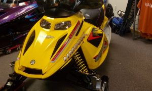 2005 Ski Doo MXZ 550f Seaberg Motorsports Crosslake MN Minnesota Twin Cities Maple Grove Minnetonka Plymouth Front
