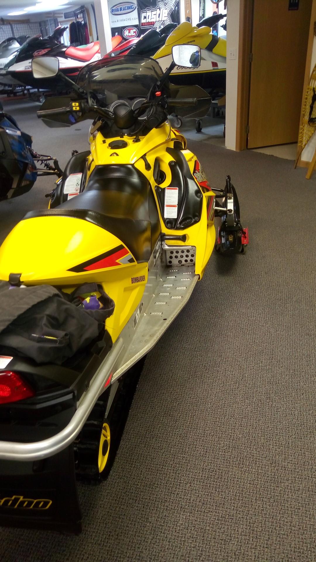 2005 Ski Doo MXZ 550f Seaberg Motorsports Crosslake MN Minnesota Twin Cities Maple Grove Minnetonka Plymouth Rear