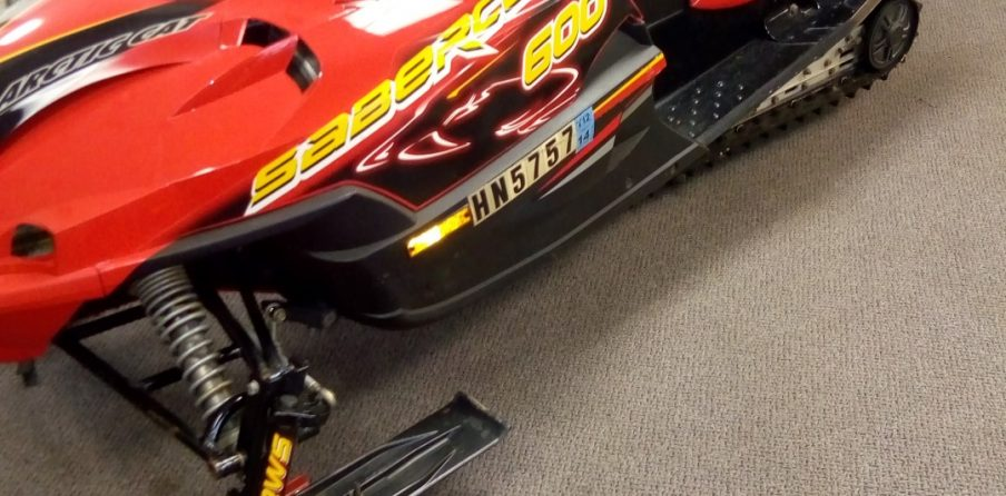 2005 Arctic Cat Sabercat 600 EFI Seaberg Motorsports Crosslake, MN twin cities metro north metro front