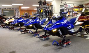 2018 Yamaha SnoScoot Lineup Seaberg Motorsports Crosslake MN Line Blue and Graphics