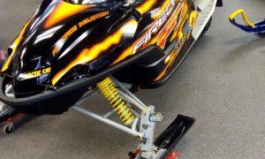 2005 Arctic Cat F7 Firecat Seaberg Motorsports Crosslake MN Front