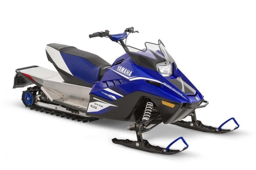 2018 yamaha Snoscoot Seaberg Motorsports Crosslake MN blue side