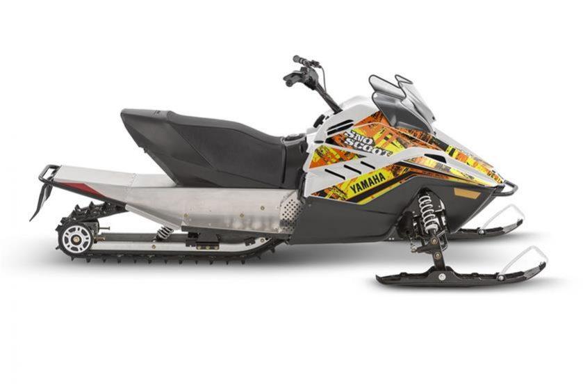 2018 yamaha Snoscoot Seaberg Motorsports Crosslake MN orange side