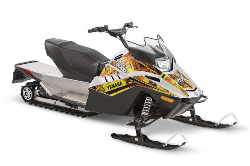 2018 yamaha Snoscoot Seaberg Motorsports Crosslake MN orange