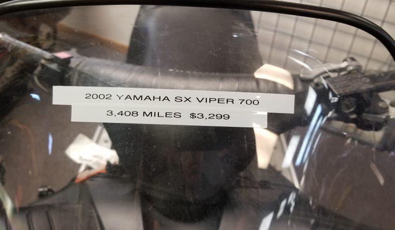2002 Yamaha SX Viper 700 full
