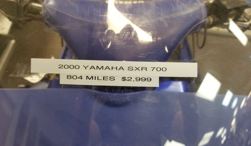 2000 Yamaha SXR 700 *LOW MILES* full